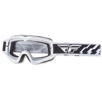 Lunette FLY Racing focus blanc